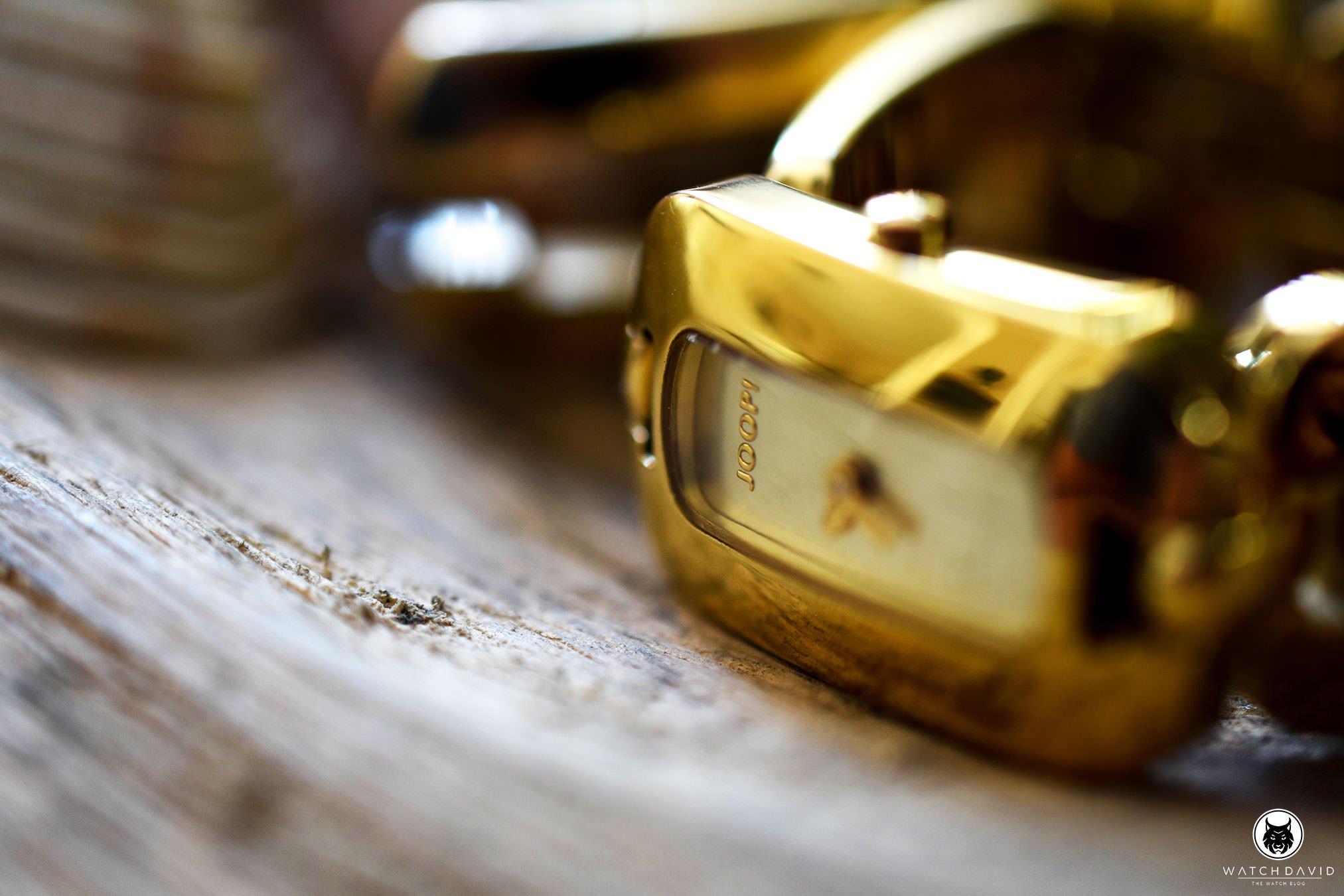 Joop Damenuhr gold WATCHDAVID