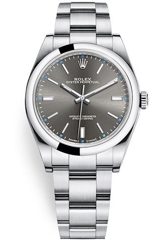 Rolex Oyster Perpetual 39 grau