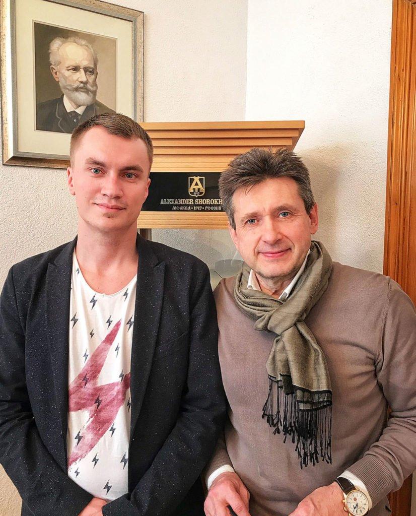 Philipp im Gespräch mit Alexander Shorokhoff