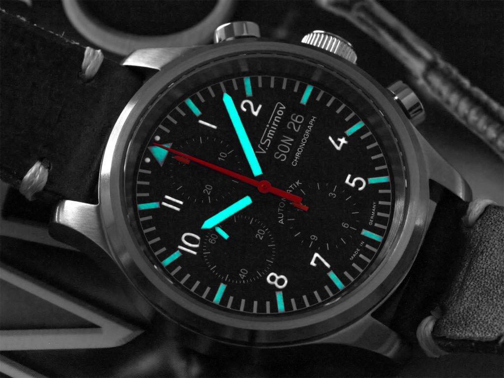 Smirnov Chronograph 7750 Valjoux