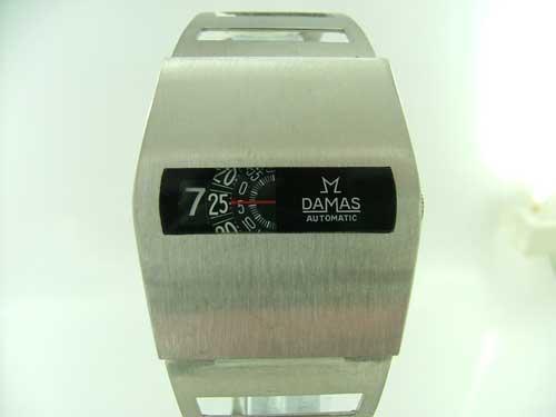 1973 Damas 17 jewels automatic jump hour
