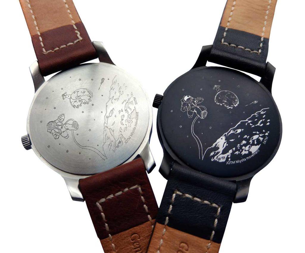 MAALS Watches silver & black
