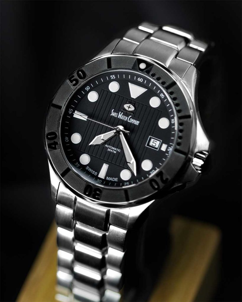 SWC Diver black Swiss Watch Company