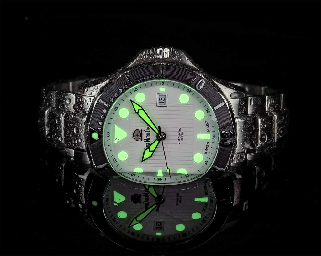 SWC Diver white Swiss Watch Company