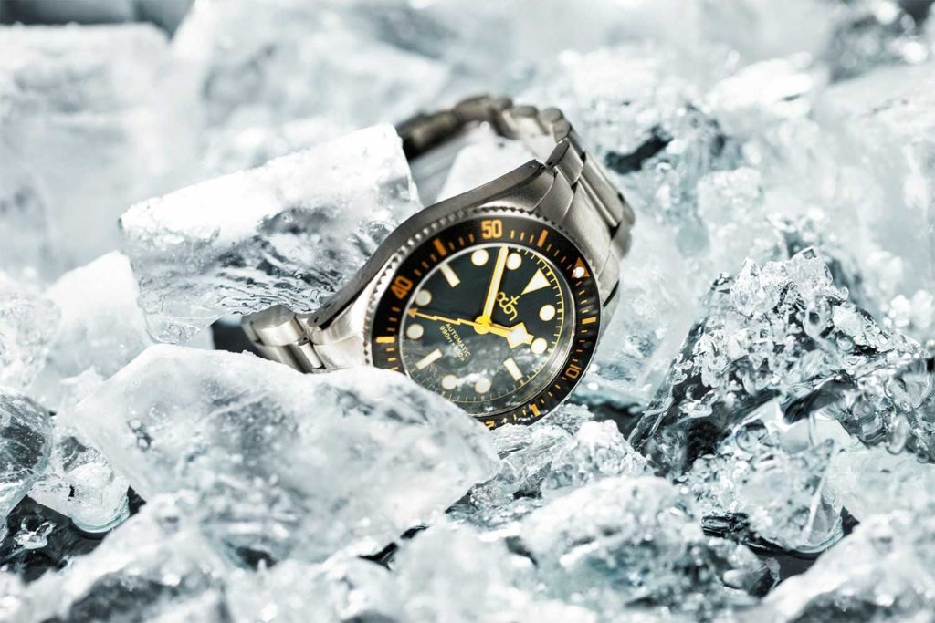 Octon Watches Meteor Grey Watch with Stainless Steel Bracelet