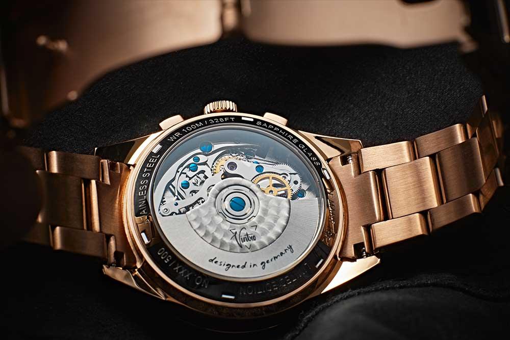 Vintro Le Mans 1952 Chronograph Case Back