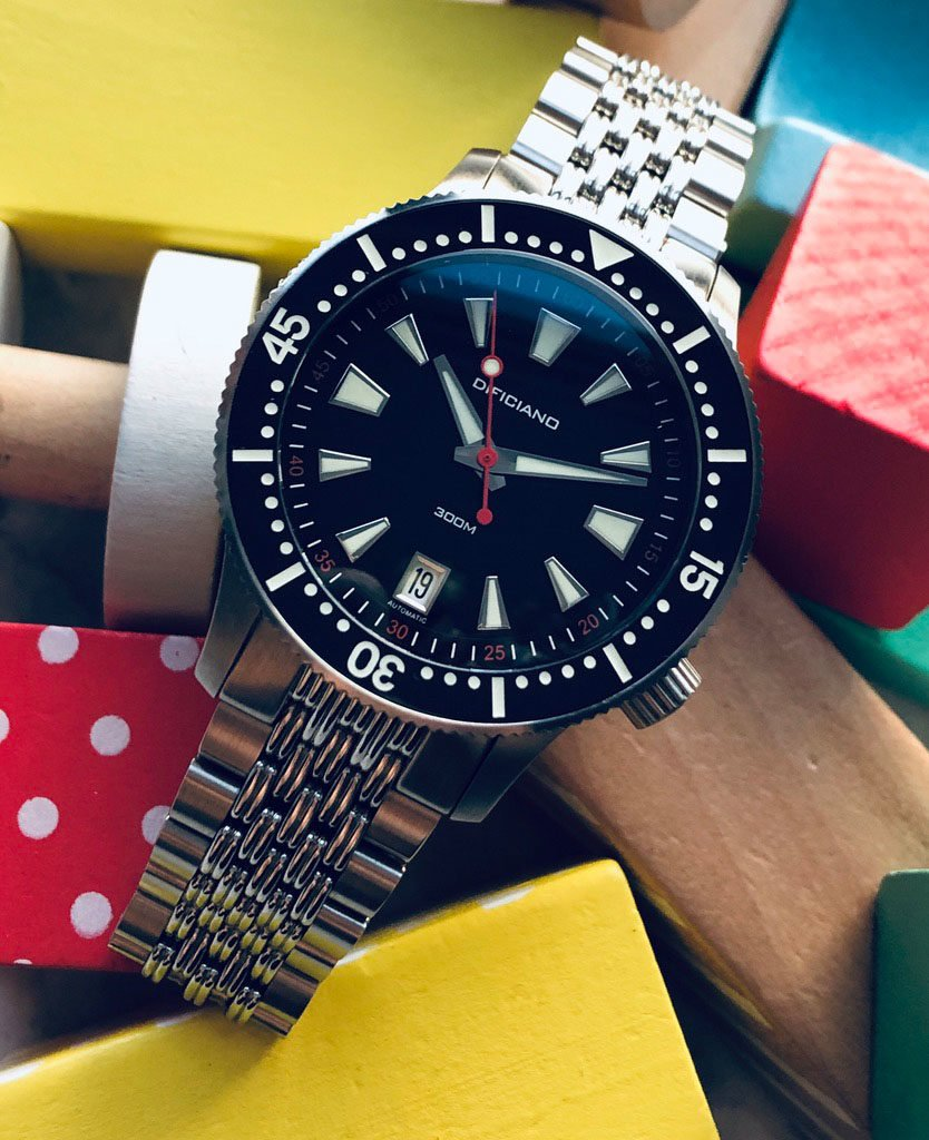 Dificiano Marlin Diver Watch