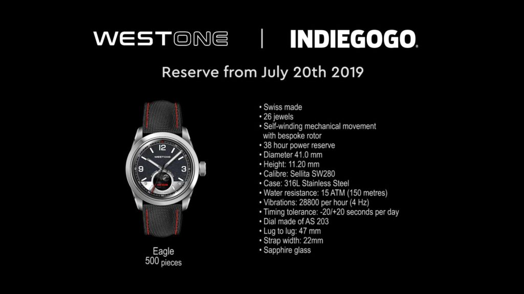 WESTONE EAGLE WATCH