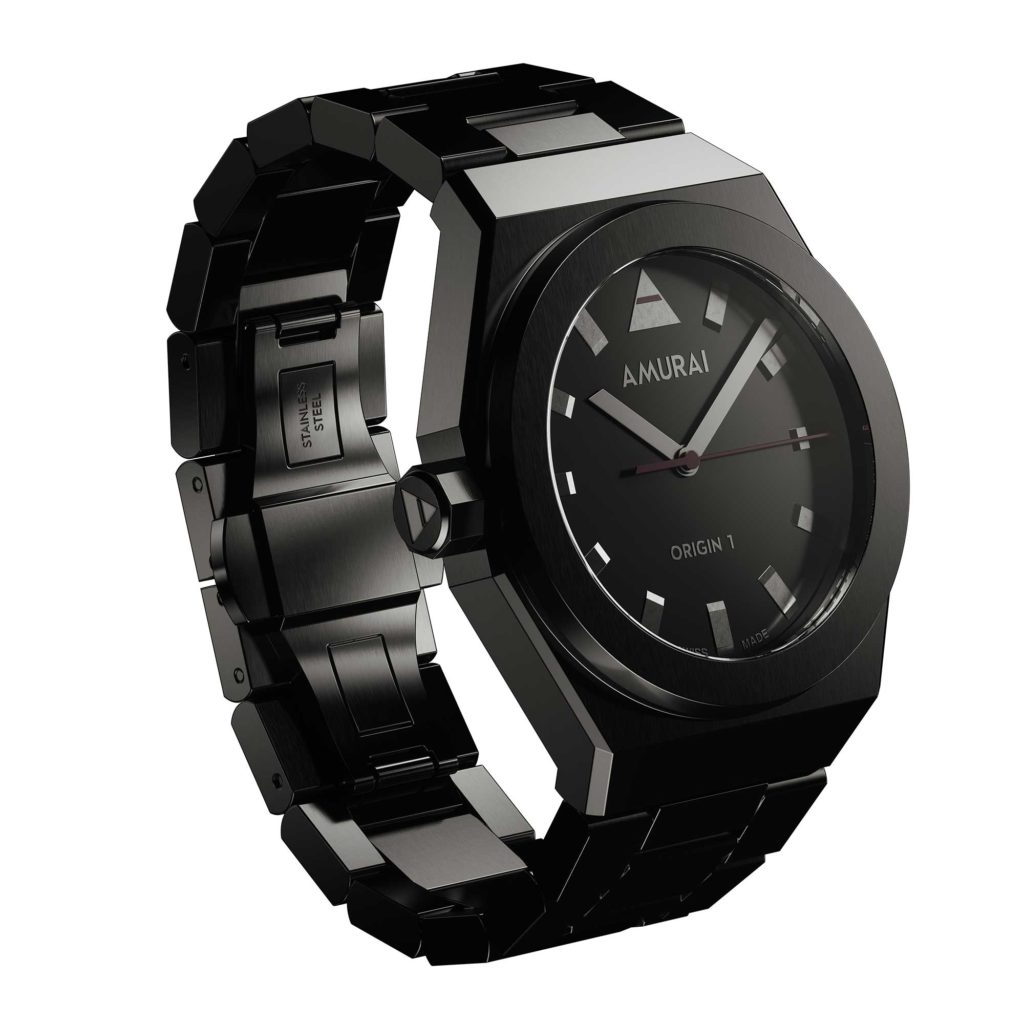 AMURAI Origin 1 – Absorbing Black with bracelet