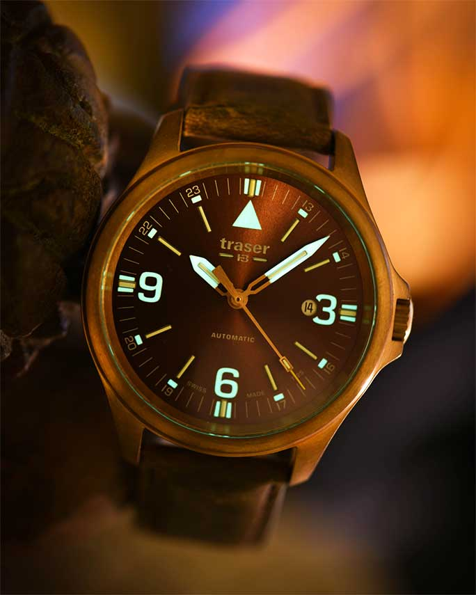 P67 Officer Pro Automatic Bronze Brown - 108073