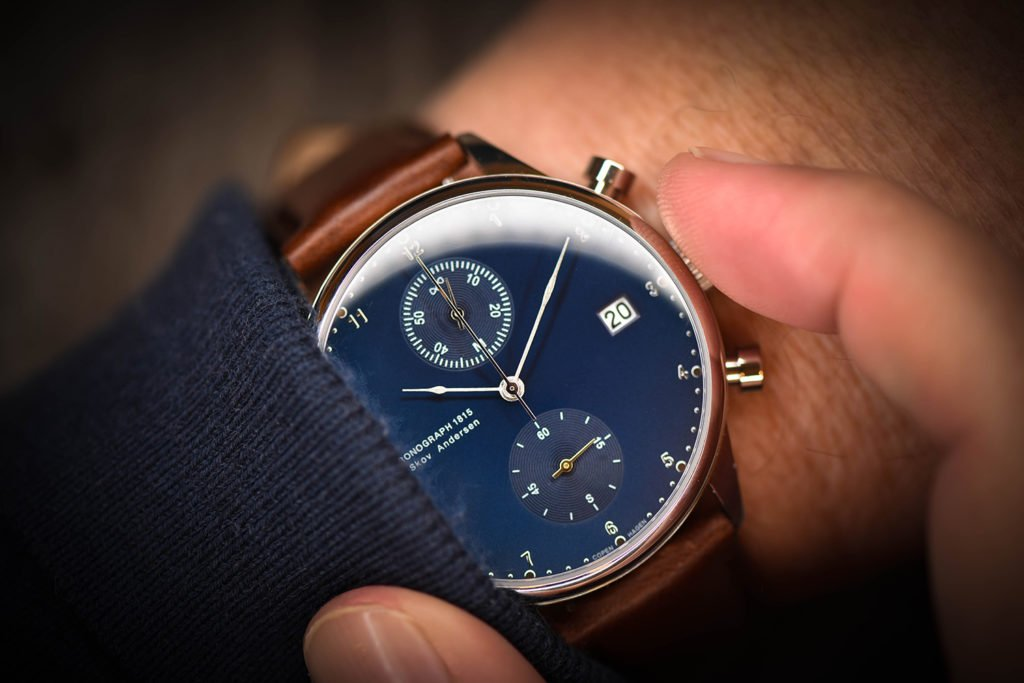 About Vintage 1815 on my Wrist with Casual Dress