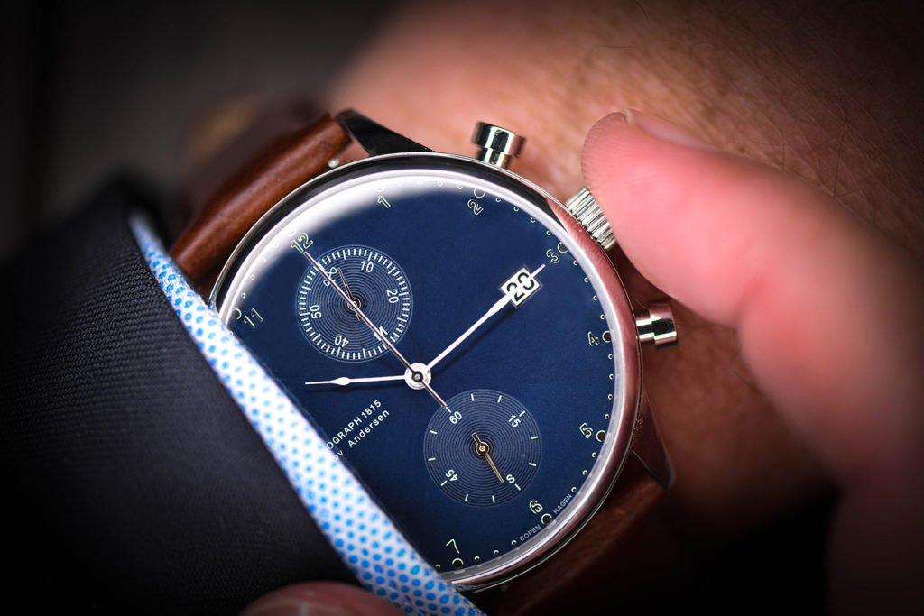 About Vintage 1815 on my Wrist with Business Dress