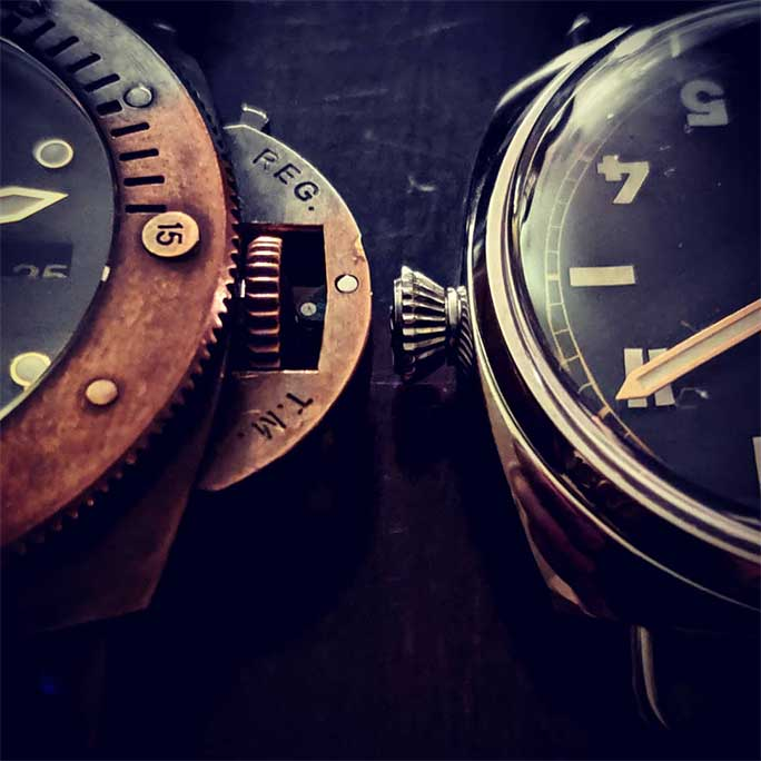 Panerai Crowns by Don Rogan