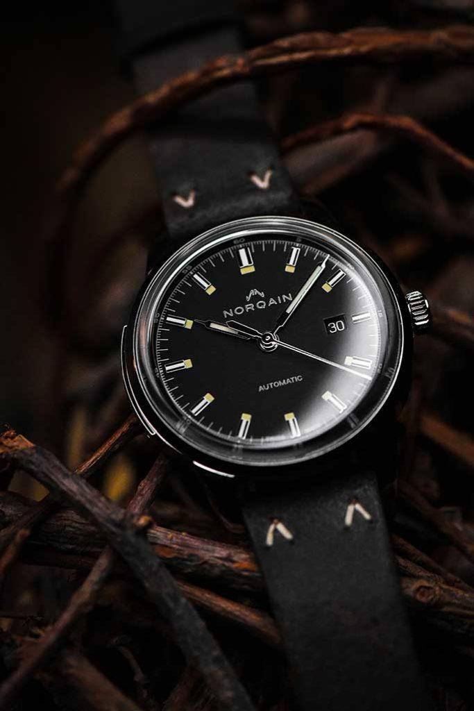NORQAIN FREEDOM 60 AUTO – BLACK DIAL – N2000S02A/B201