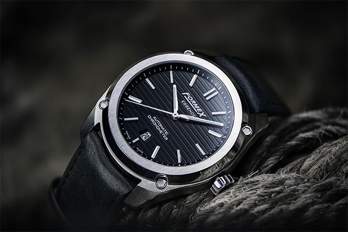 Formex Essence Automatic Chronometer Black