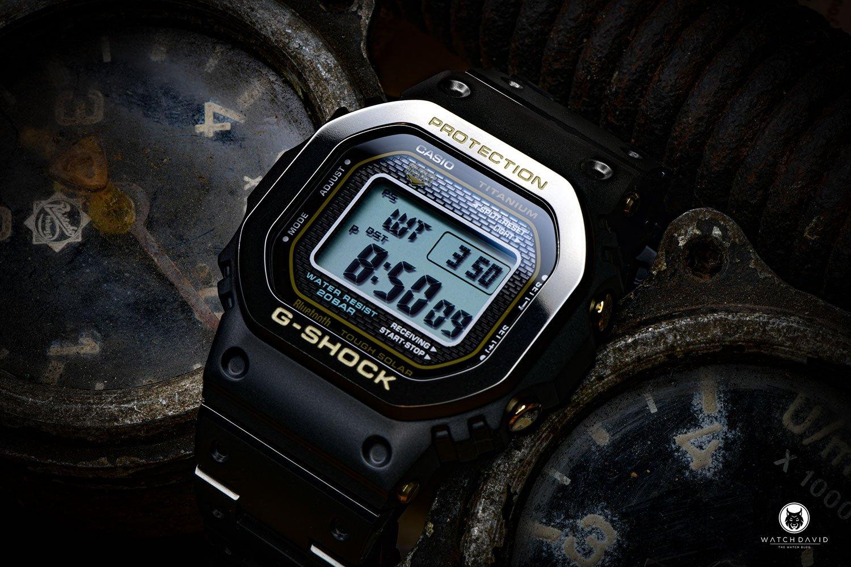 Casio G-SHOCK GMW-B5000TB-1ER Titanium DLC