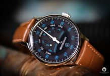 Meistersinger Astroscope black blue