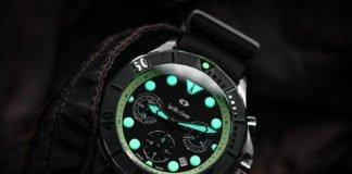 Swiss Watch Company Chronograph green