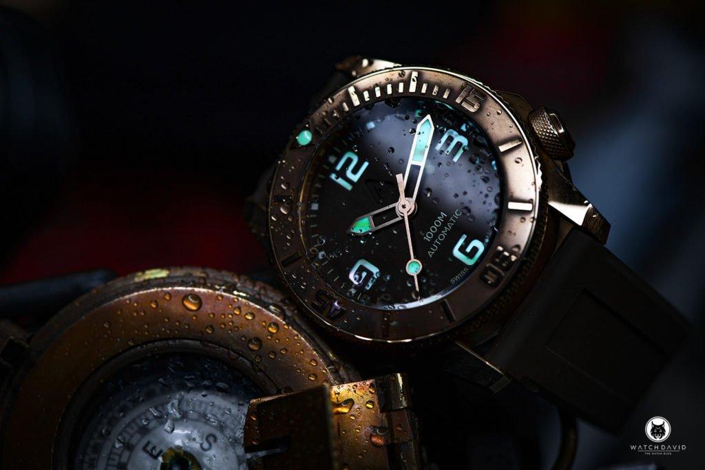Andersmann Bronze Watch 1000m ANN0933