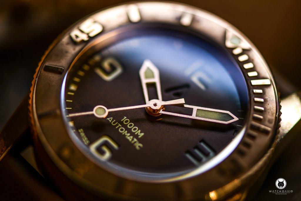 Andersmann Bronze Diver Wach