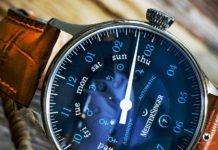 Meistersinger Astroscope black blue