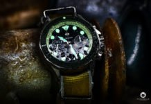 Swiss Watch Company Chronograph green