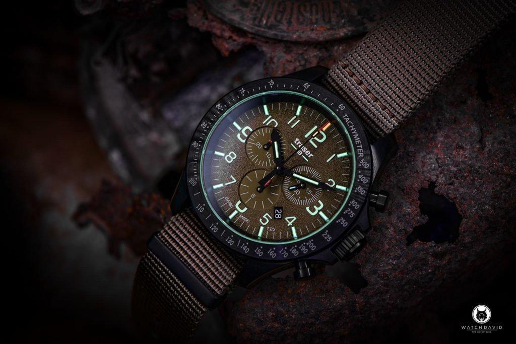 P67 Officer Pro Chronograph Khaki NATO - 109459