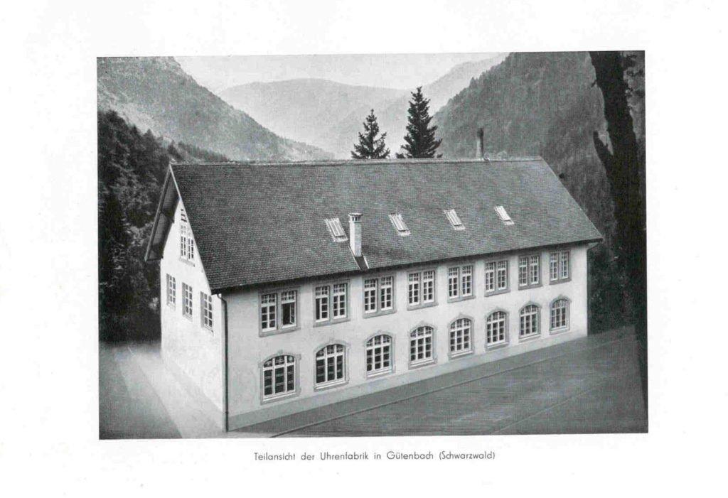 Hanhart Firmengebäude Gütenbach 1939