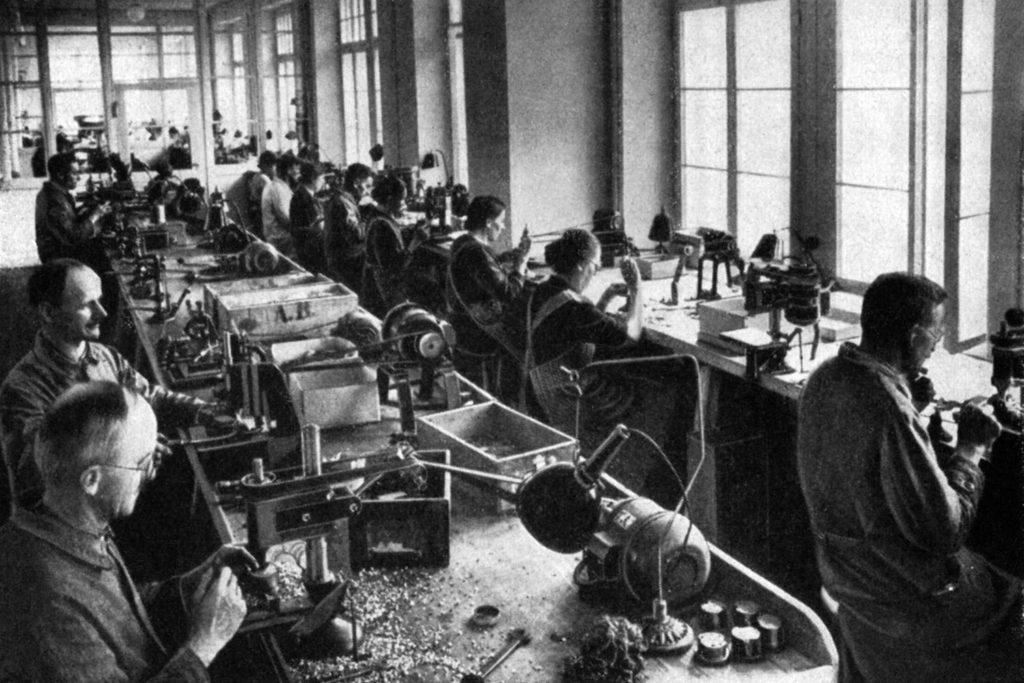 Firmengeschichte Hanhart Uhren
