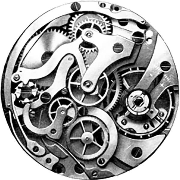 Hanhart Uhrwerk der Kaliber 40