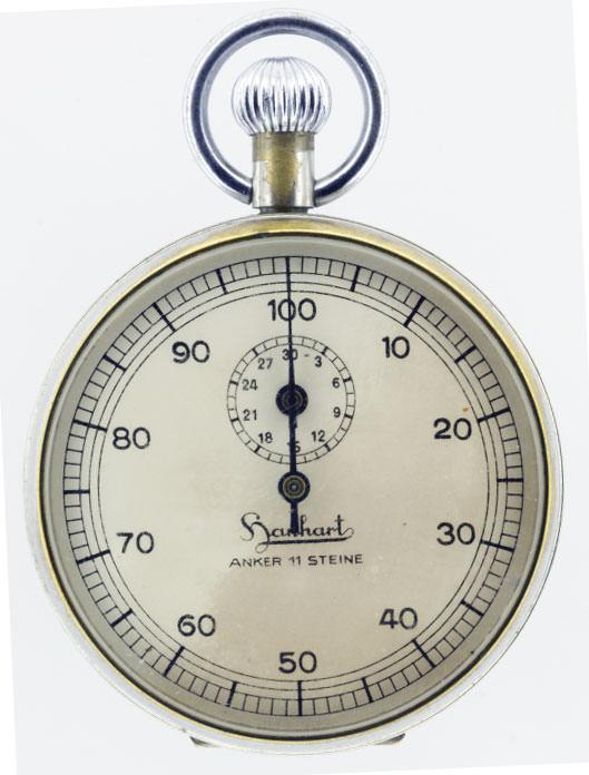 Hanhart Uhren historischer Stoppuhren