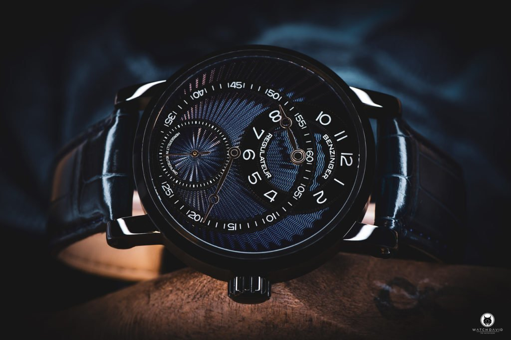 Jochen Benzinger Regulateur BlueBlack DLC