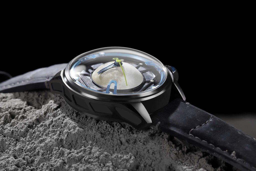 OVD Watches Moon Walker II Lunar Crater