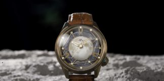 OVD Watches Moon Walker II Lunar Crater