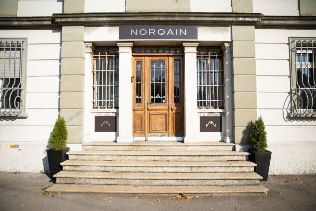 NORQAIN Hauptsitz in Nidau