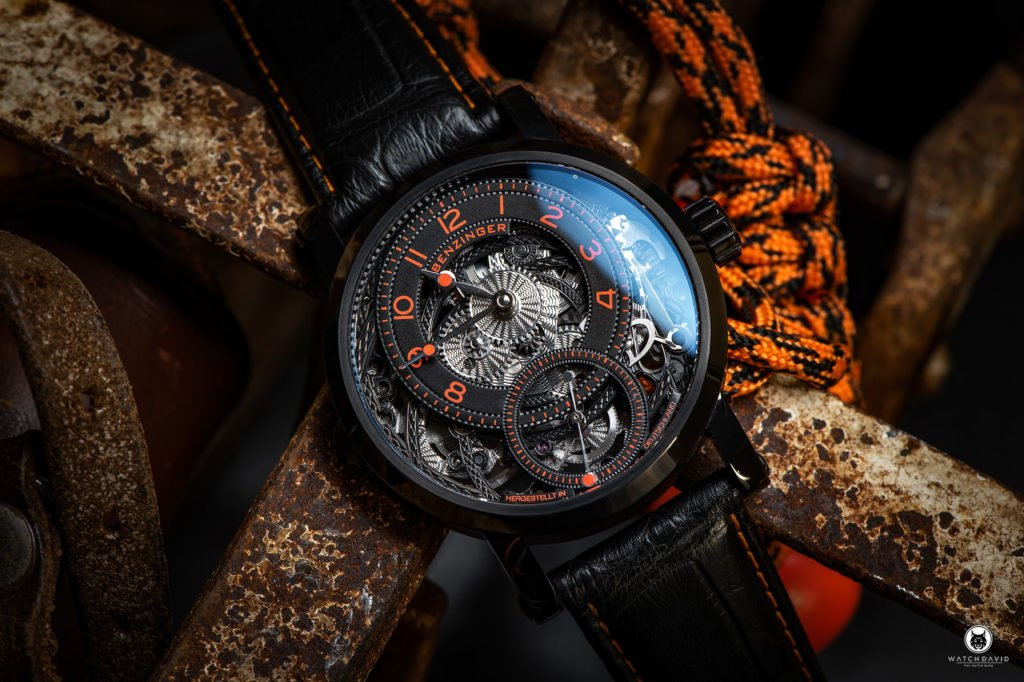BENZINGER Subskription Black Orange