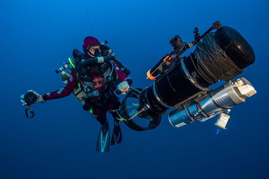La PÇrouse eDNA-filter Laurent Ballesta Blancpain Ocean Commitment