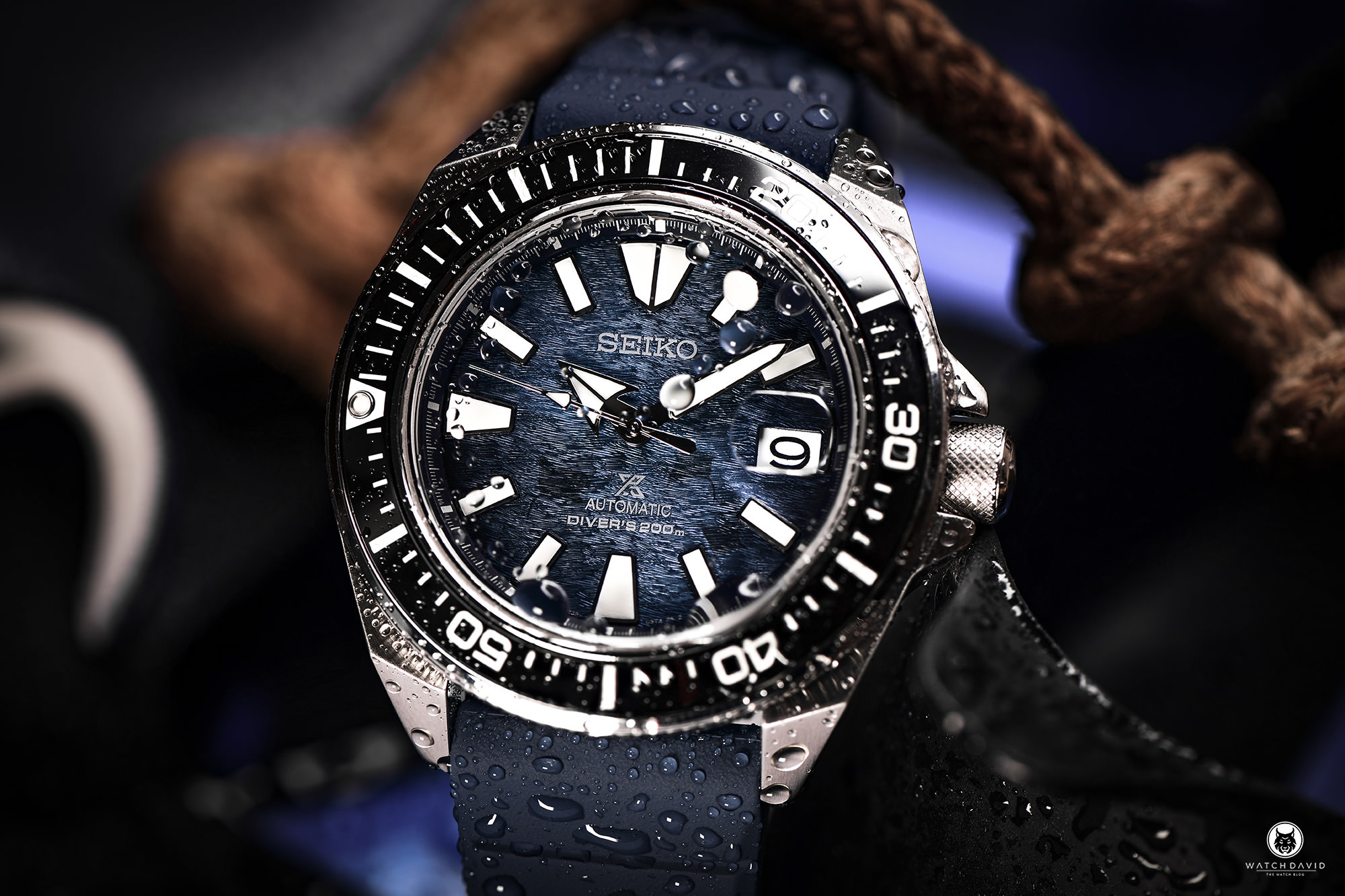 Seiko Prospex Samurai SRPF79K1 Save the Ocean