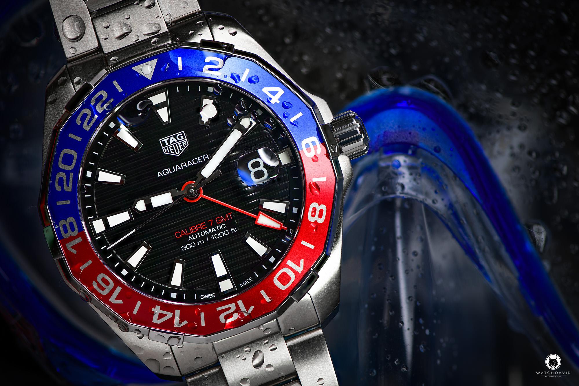 TAG Heuer Aquaracer GMT Pepsi Review