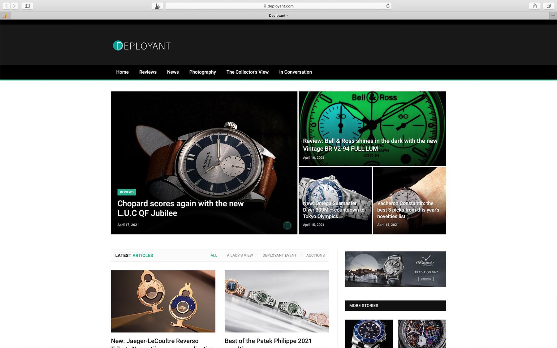 Watch Blogs deployant