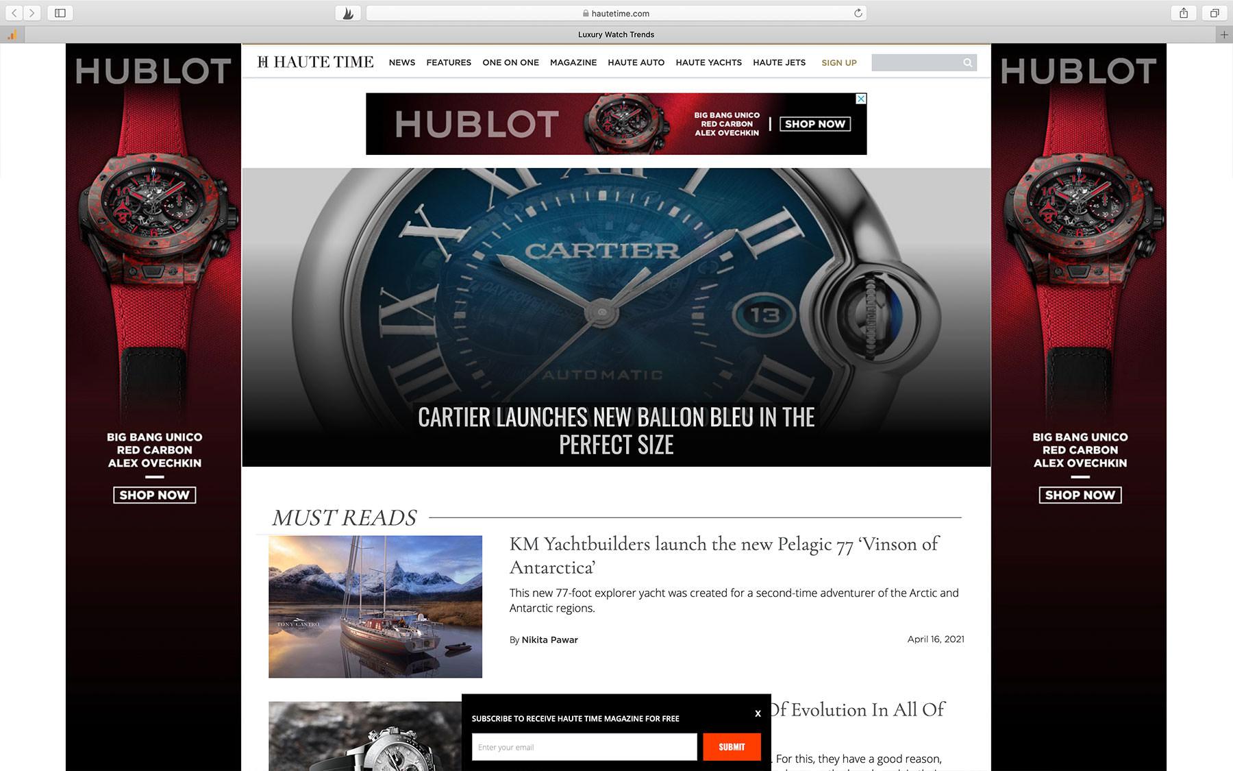 Watch Blogs Haute Time
