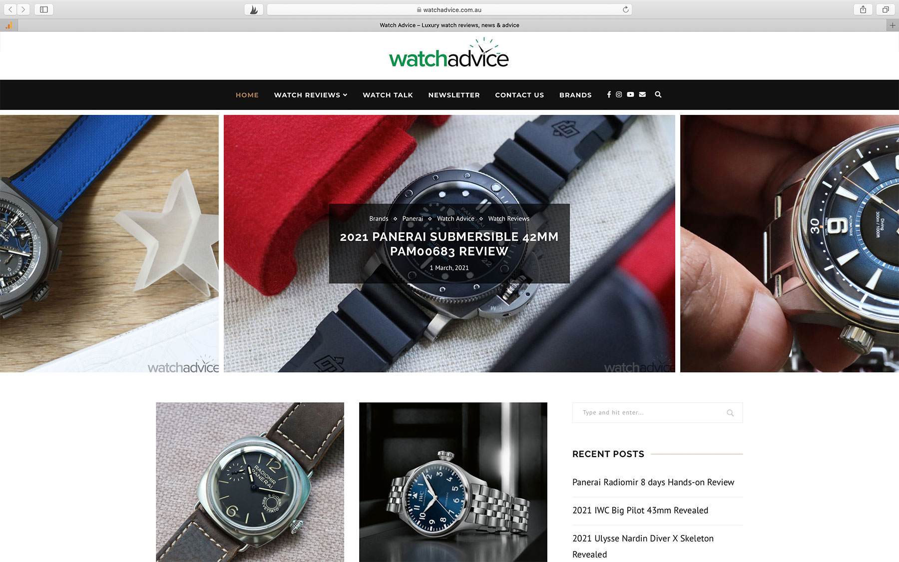 Watch Blogs WatchAdvice