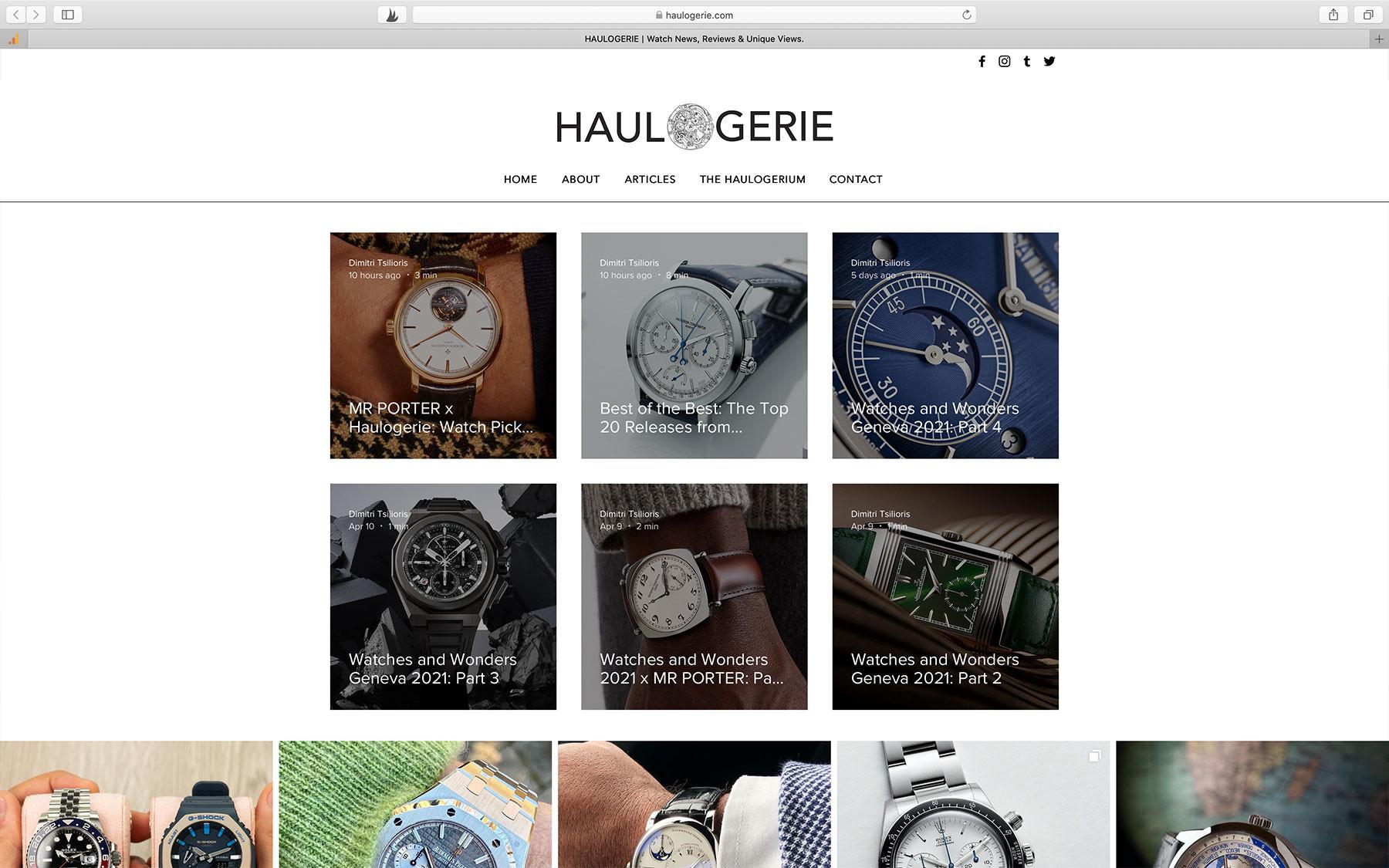 Watch Magazine Haulogerie