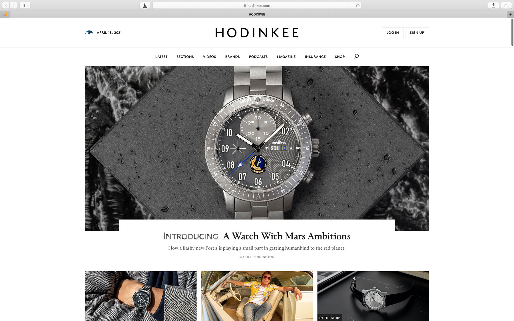 Watch Magazine HODINKEE