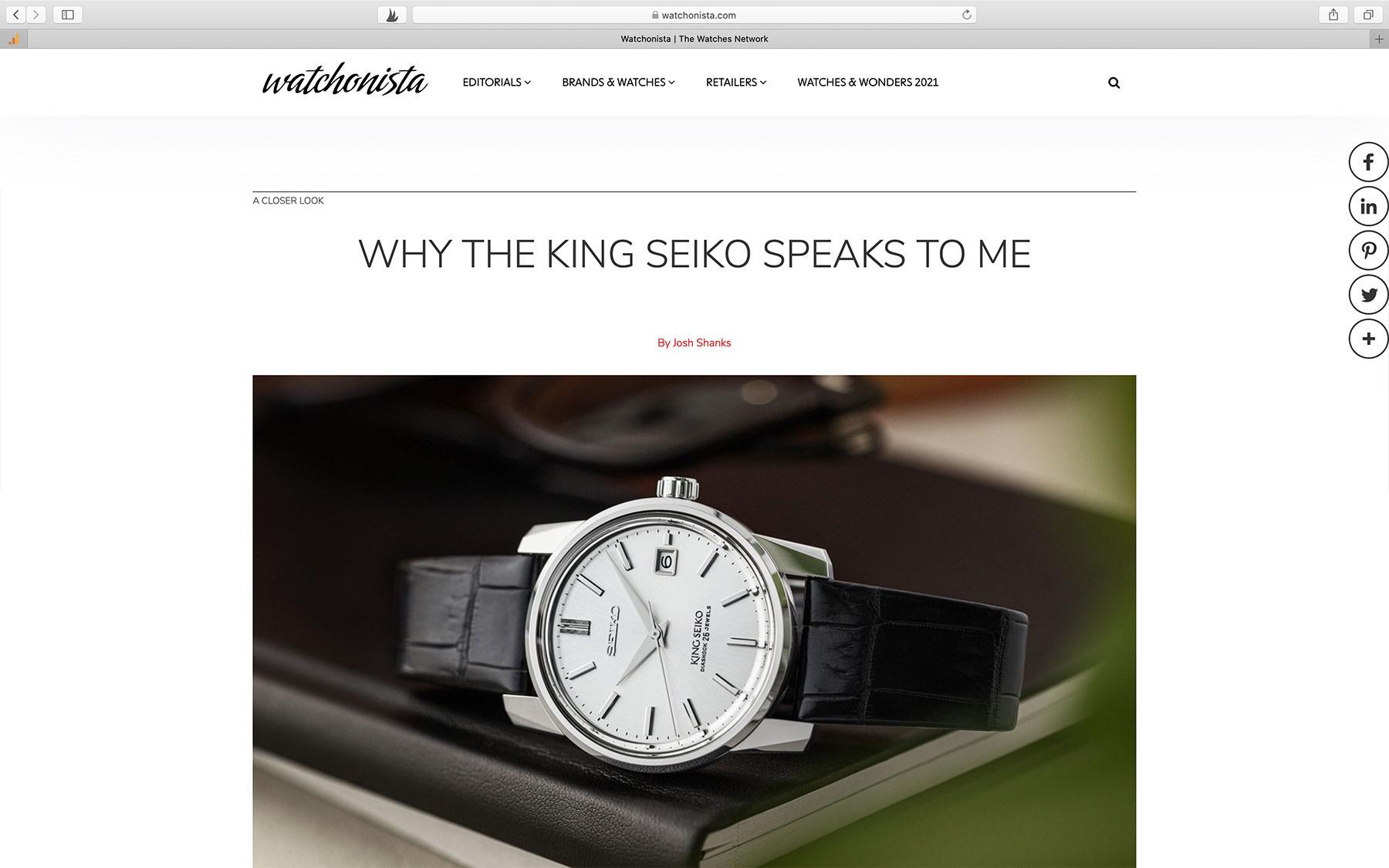 Watch Magazine Watchonista