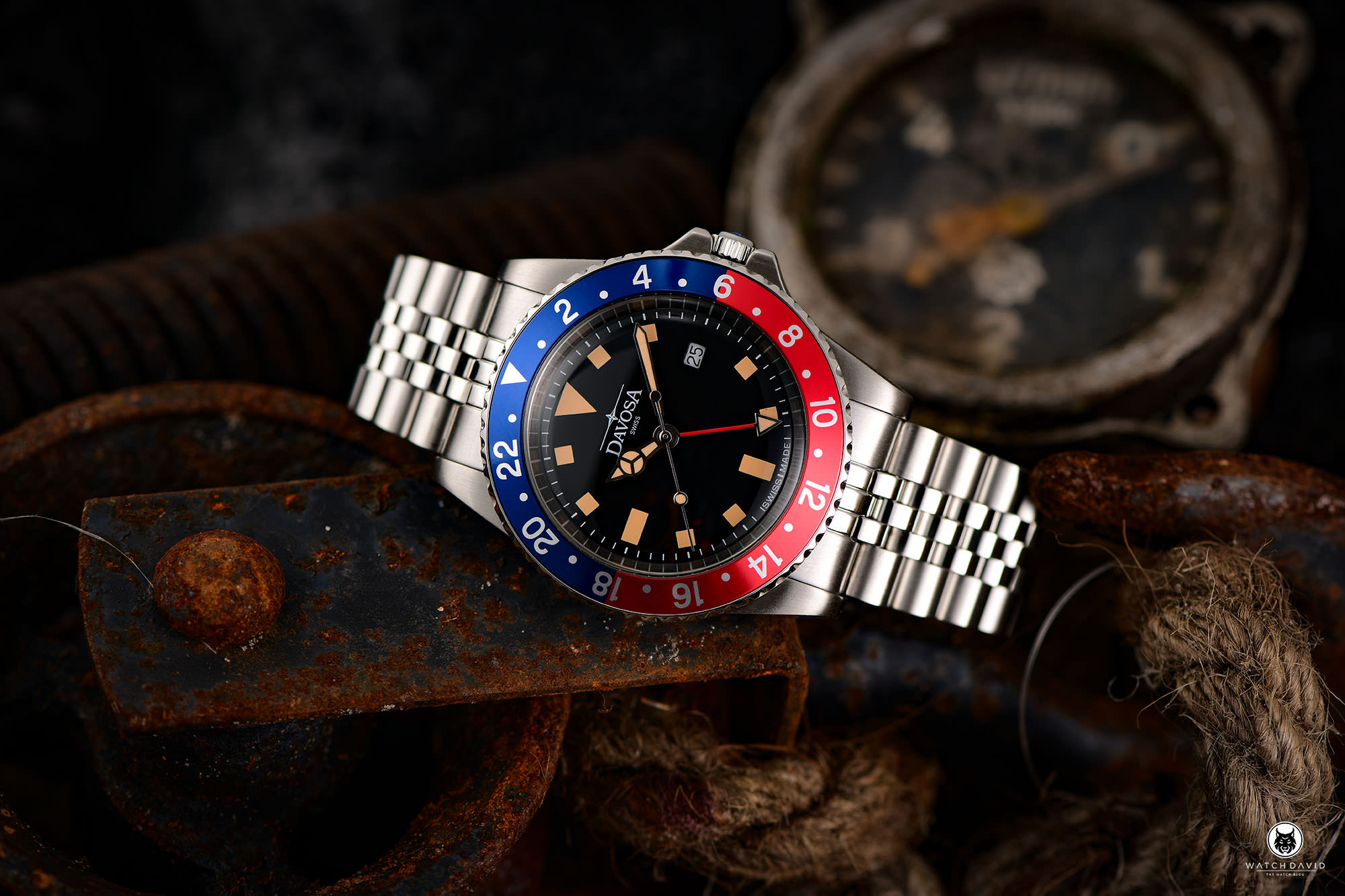 Davosa Vintage Diver Pepsi GMT Review