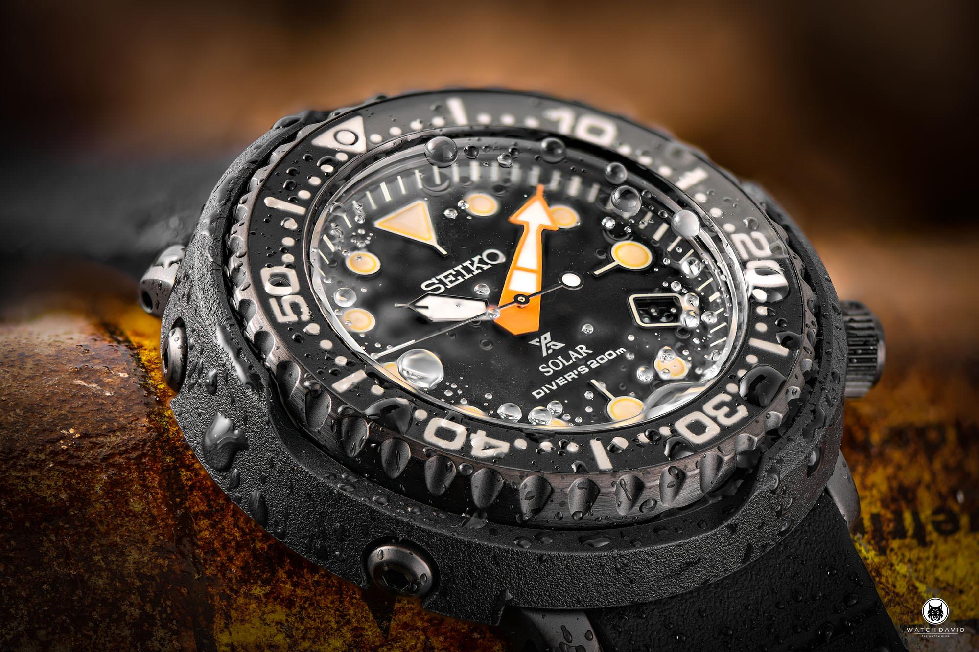 Seiko Prospex Tuna Solar Black SNE577P1